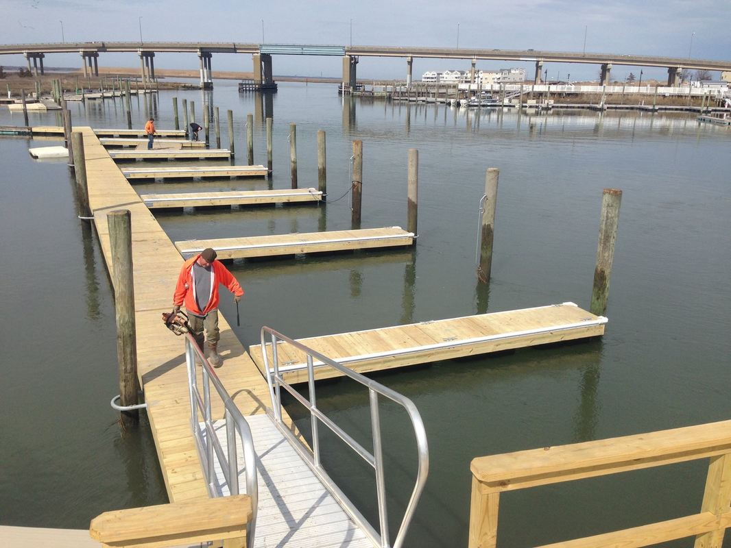 Dock Connection Custom Docks and Gangways